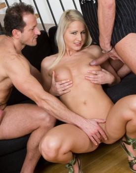 Joyce Has a Casting Audition Including a Threesome Fuck Session-3