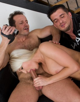 Joyce Has a Casting Audition Including a Threesome Fuck Session-6