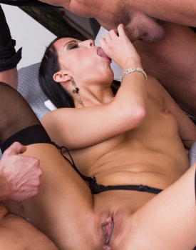 Samantha Joons Private Casting. DP in her first porn scene-9