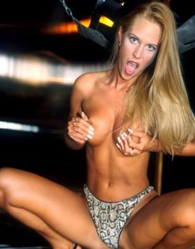 Cassandra Wild, blond model in a Private Casting-9
