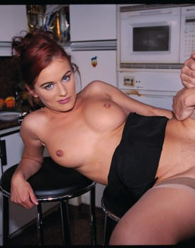 Suzan Wienold, Pretty Redheaded Teen in Private Anal Casting-11