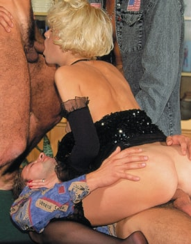 Irina Discovers Gangbangs Thanks to the Private Casting-4