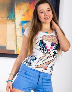 Taissia Shanti, Russian teen in a porn scene for a Private Casting-4