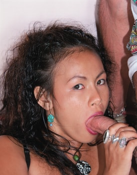 Mame Yong, Oriental Lust, Shows everything at the Private Casting-3