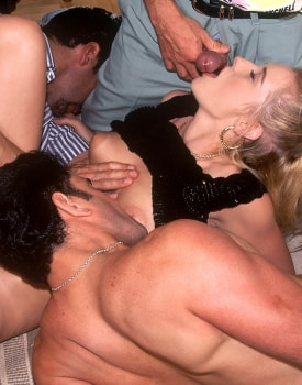 Betty, Sexy Blonde Ready for a Gangbang at the Private Casting-5