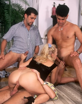 Betty, Sexy Blonde Ready for a Gangbang at the Private Casting-6
