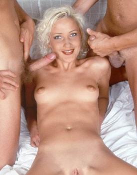 Private Castings: Stasha, Skinny Blonde and Superslut-9