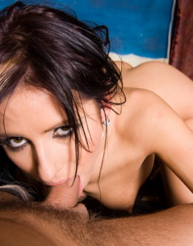 Czech Brunette Victoria Rose Visits Private's Casting Couch-3